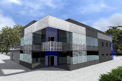 Wyposażenie kompleksu biurowego