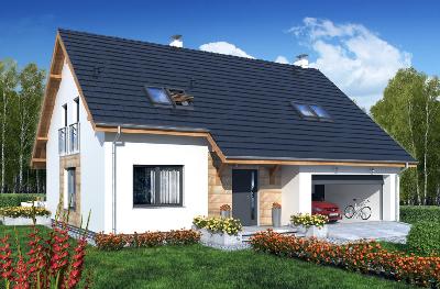 Wykończenie oraz sprzedaż domu pod Ostrowem Wlkp. Etap II