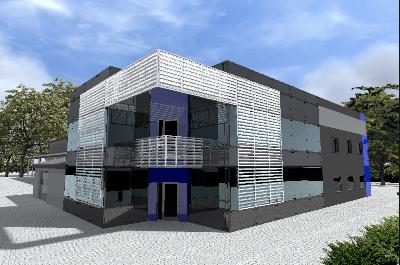 III etap budowy kompleksu biurowego i hali produkcyjno-magazynowej (kontynuacja)