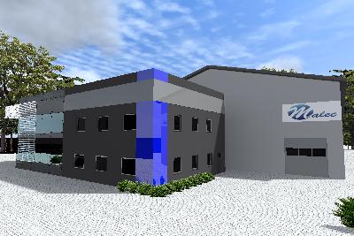 IV etap budowy kompleksu biurowego i hali produkcyjno-magazynowej