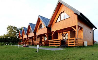 Budowa 5 domków - wynajem agroturystyczny